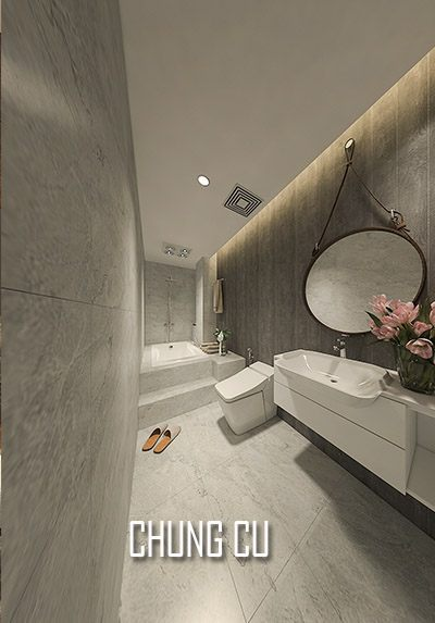Thiết kế nội thất căn hộ chung cư tại Bắc Giang đẹp, hiện đại