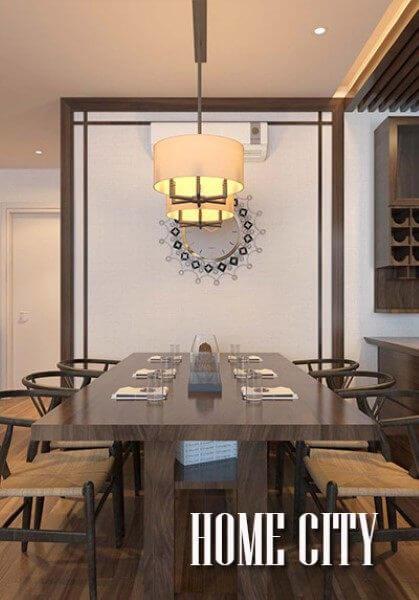 Thiết kế nội thất chung cư cao cấp tại Home City - Anh Đông