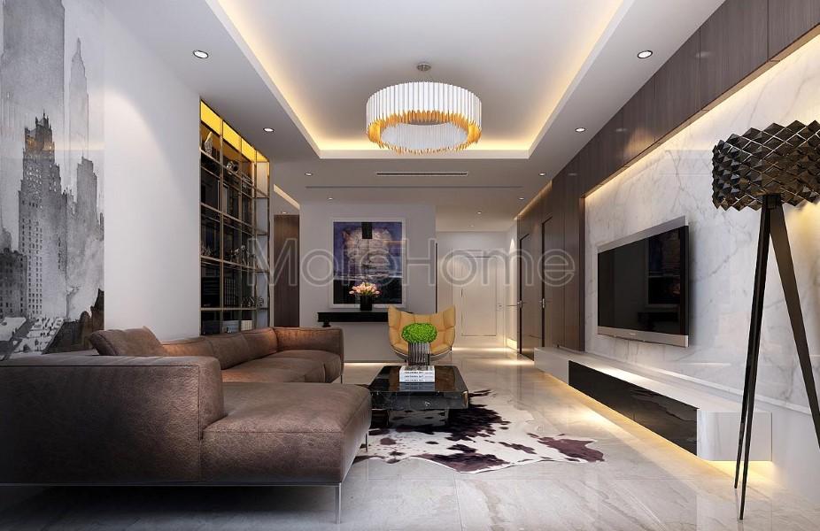 Thiết kế chung cư hiện đại tại Vinhomes Nguyễn Chi Thanh