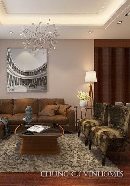 Thiết kế nội thất căn hộ chung cư cao cấp VinHomes Nguyễn Chí Thanh