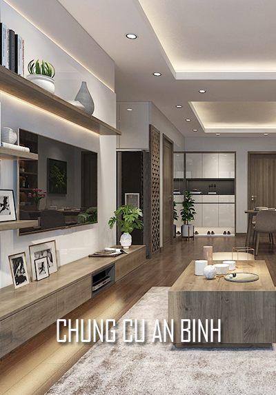 Thiết kế nội thất chung cư hiện đại AN BÌNH CITY