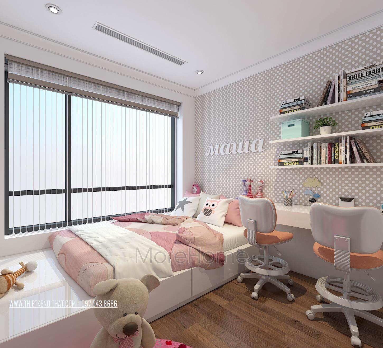 Thiết kế nội thất chung cư Gardenia - anh Hải
