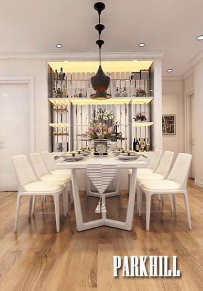 Mẫu thiết kế nội thất chung cư Park Hill đẹp sang trọng