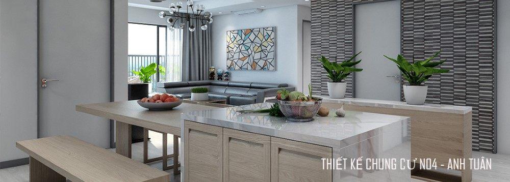 Thiết kế nội thất căn hộ chung cư N04 cao cấp