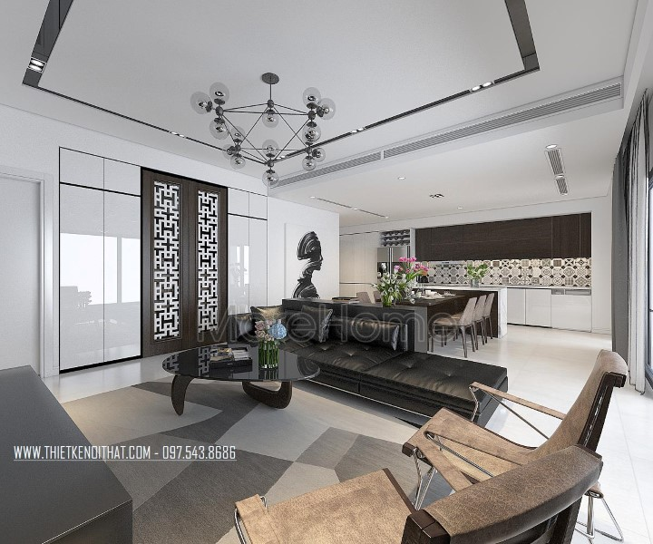 Thiết kế và thi công nội thất tại chung cư Imperia Garden