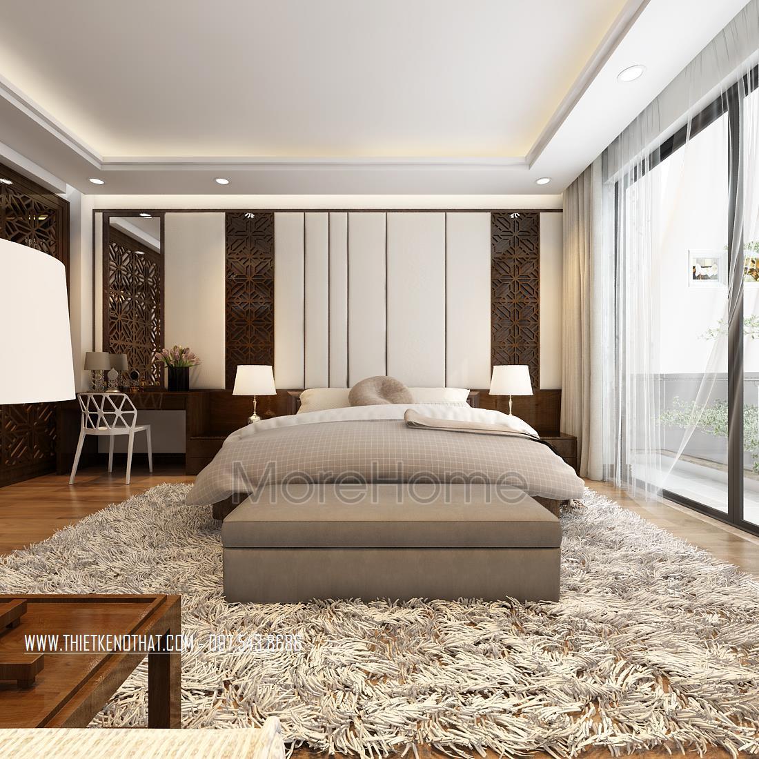 Thiết kế nội thất nhà phố ở Mỹ Đình