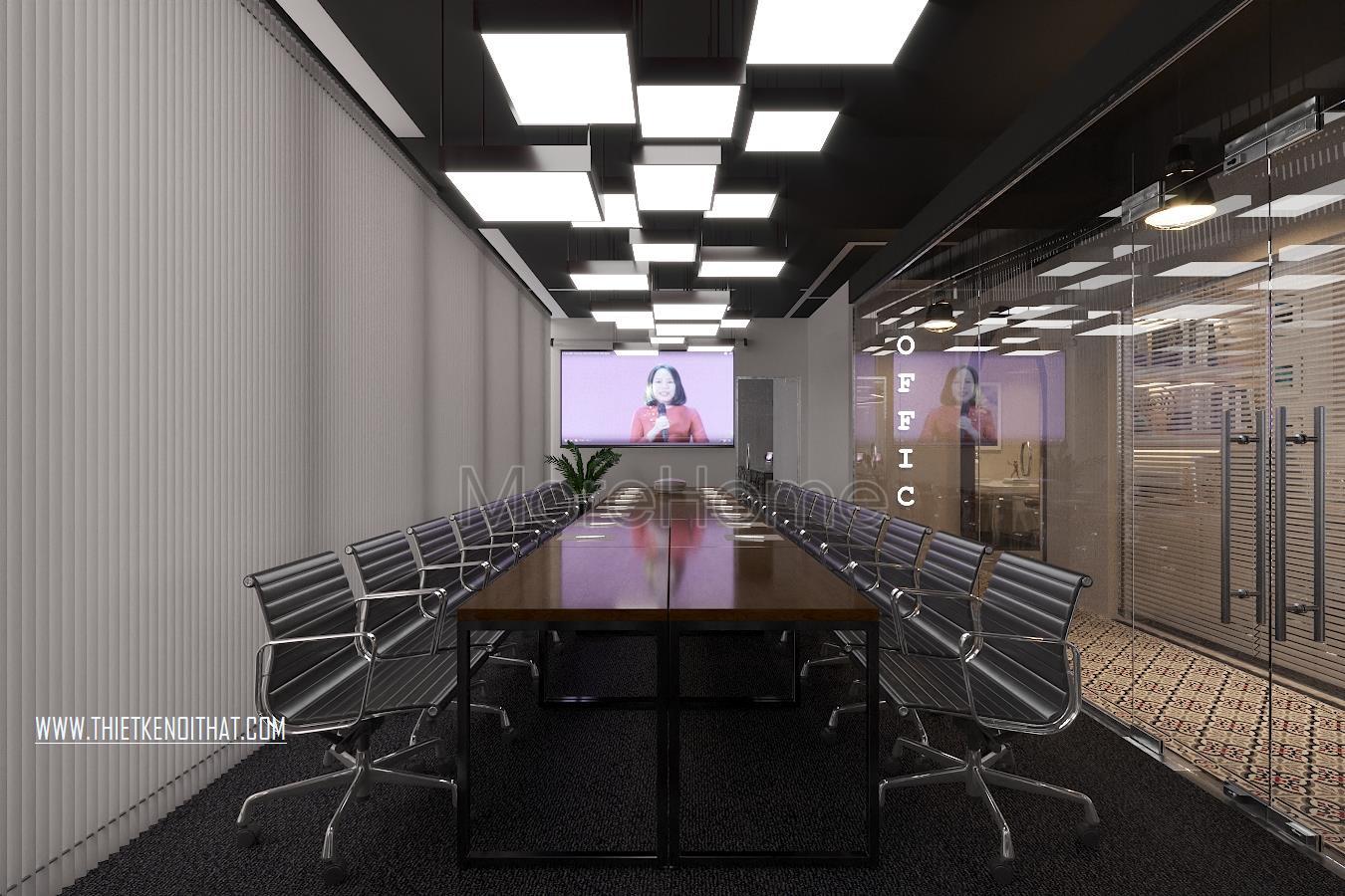 Thiết kế nội thất văn phòng SAFFRON