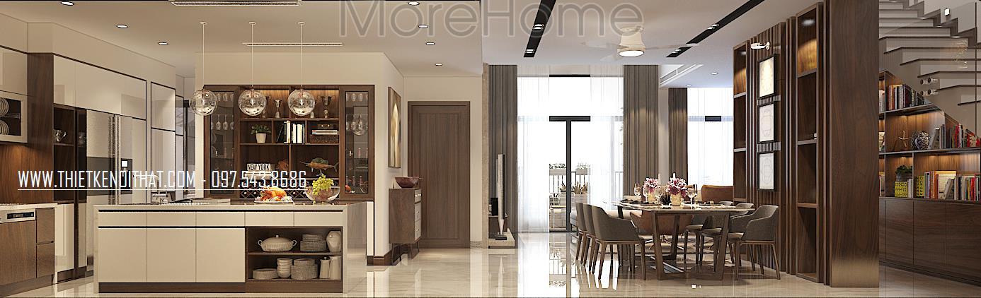 Thiết kế nội thất căn hộ chung cư Penthouse Golden Palacem