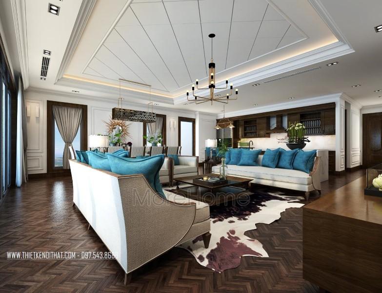 Thiết kế nội thất căn hộ cao cấp Penthouse Imperia