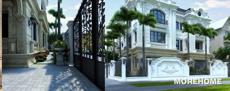 Thiết kế biệt thự Xuân Phương