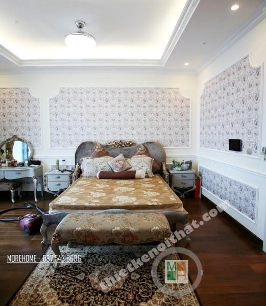 Thi công nội thất căn hộ chung cư cao cấp PentHouse Keangnam