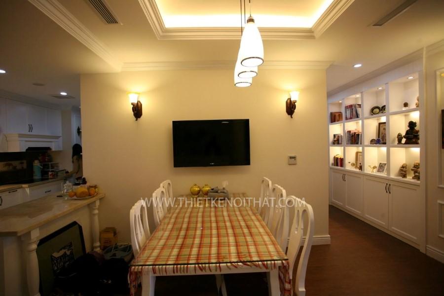 Thi công nội thất chung cư Mandarin Garden Tân cổ điển