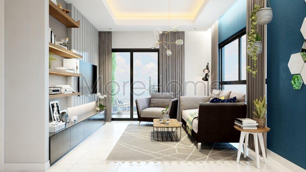 Thiết kế nội thất căn hộ chung cư Pearl Plaza