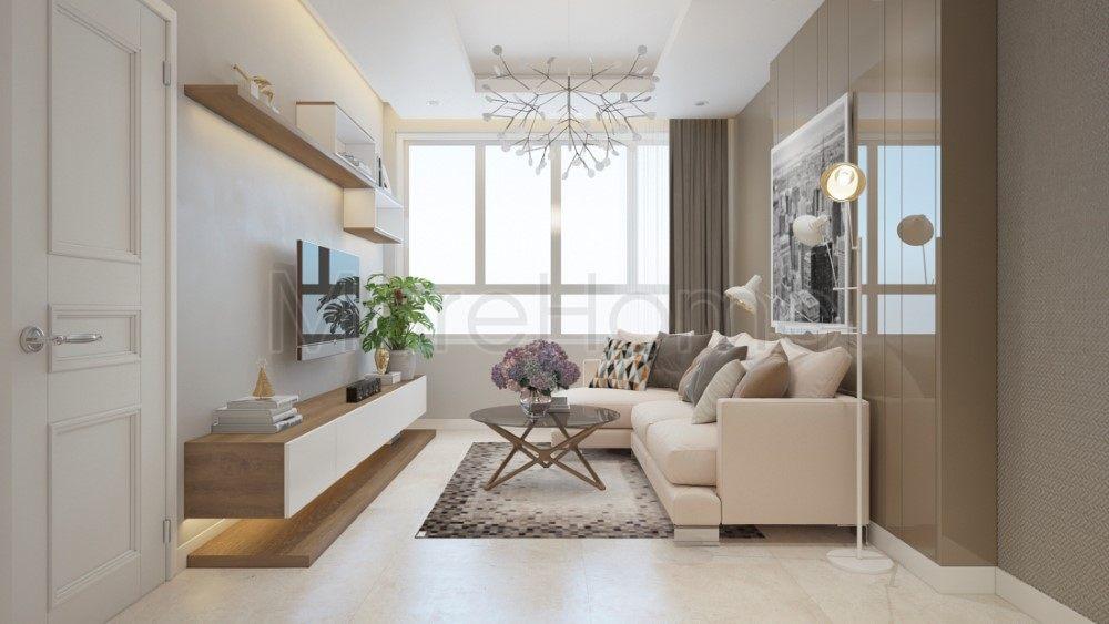 Thiết kế nội thất căn hộ chung cư Saigonres