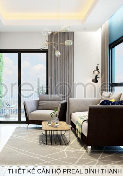 Thiết kế nội thất căn hộ chung cư Pearl Quận Bình Thạnh - Chị Dung hiện đại