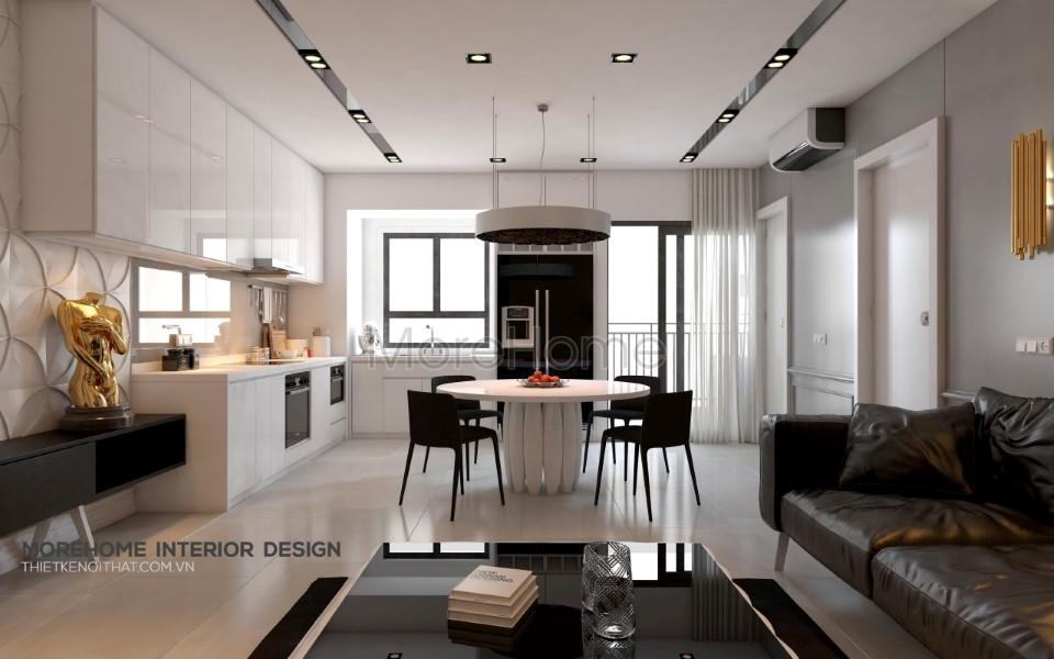 Thiết kế nội thất chung cư Giảng Võ
