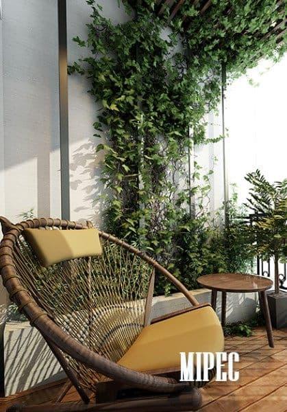 Thiết kế chung cư đậm phong cách hiện đại tại Mipec