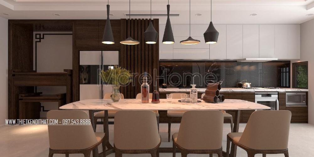 Thiết kế nội thất căn hộ chung cư hiện đại tại Timescity