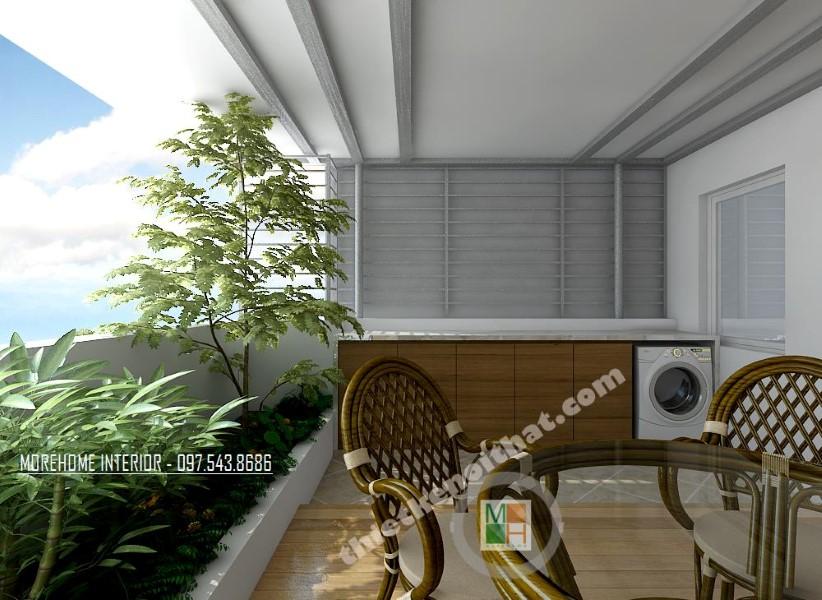 Thiết kế nội thất nhà phố Hoàng Quốc Việt