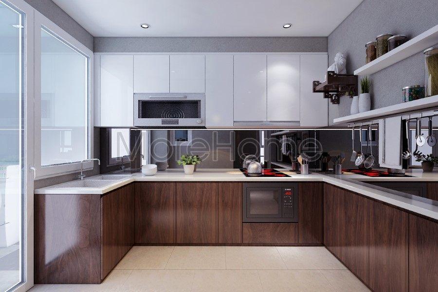 Thiết kế nội thất căn hộ chung cư happy valley phú mỹ  hưng  - Quận 7