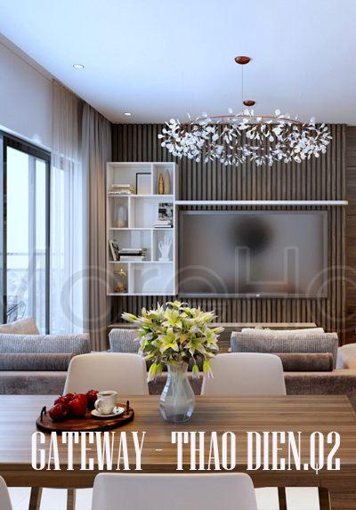 Thiết kế nội thất căn hộ chung cư GateWay Thảo Điền - Quận 2