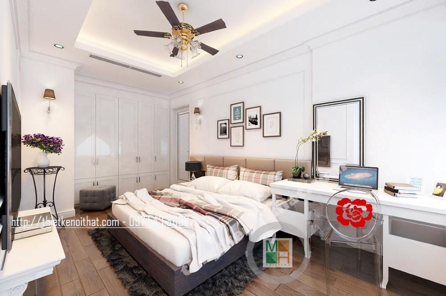 Thiết kế nội thất chung cư Mandarin Hòa Phát