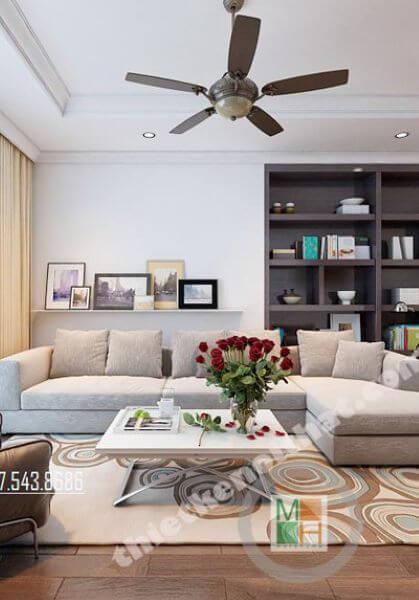 Thiết kế nội thất căn hộ TimesCity cao cấp