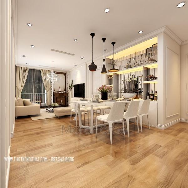 Thiết kế nội thất chung cư Park Hill đẹp sang trọng