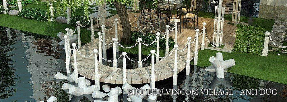 Thiết kế nội thất biệt thự Vincom Village VinHome - Nhà Anh Đức