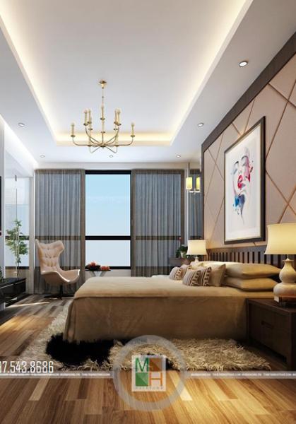 Thiết kế nội thất nhà phố thái thịnh - Anh Hải phong cách tân cổ điển