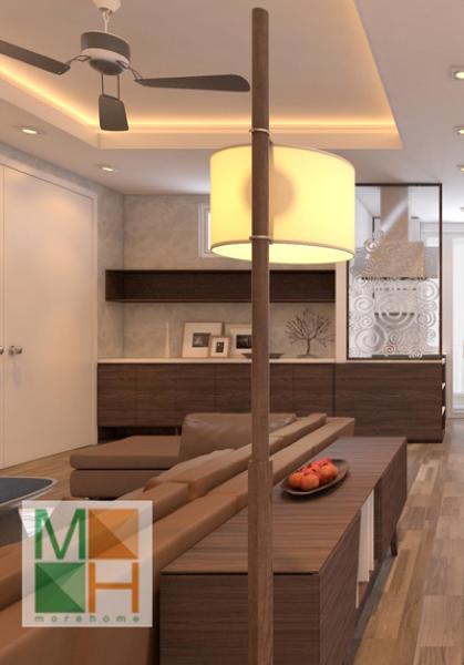 Thiết kế nội thất chung cư 170 Đê La Thành - Anh Hà