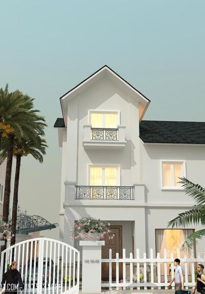 Thiết kế kiến trúc và nội thất biệt thự Vincom Village hiện đại