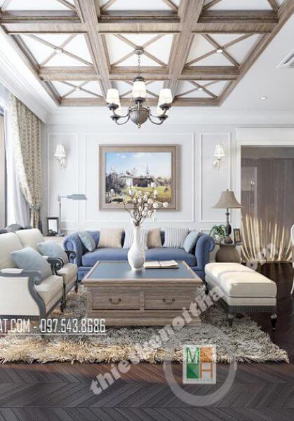 Thiết kế nội thất căn hộ chung cư TimesCity cao cấp - nhà Anh Mạnh