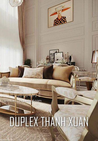 Thiết kế nội thất căn hộ Duplex Thanh Xuân Complex Sang trọng - Đẳng cấp