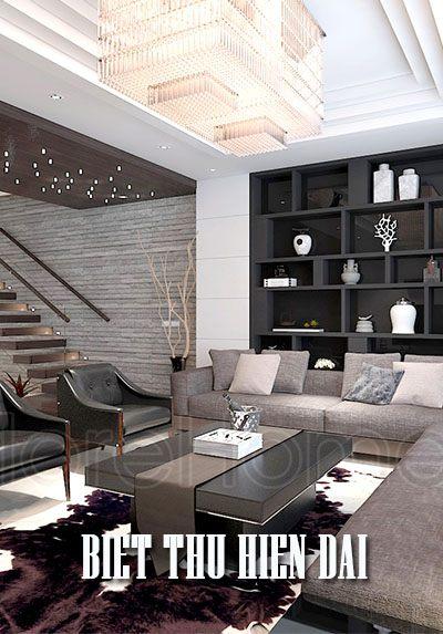Thiết kế biệt thự hiện đại tai TP Vinh - Chị Thủy