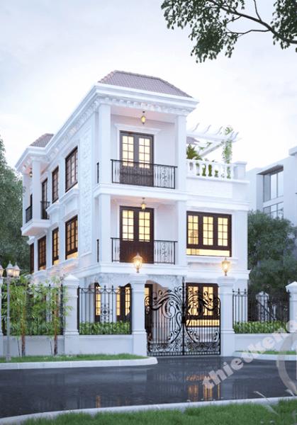 Thiết kế biệt thự Phú Mỹ Hưng, Hồ Chí Minh - Chị Sương