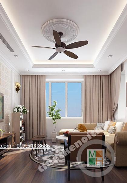 Thiết kế nội thất biệt thự hiện đại tại SPLENDORA Bắc An Khánh