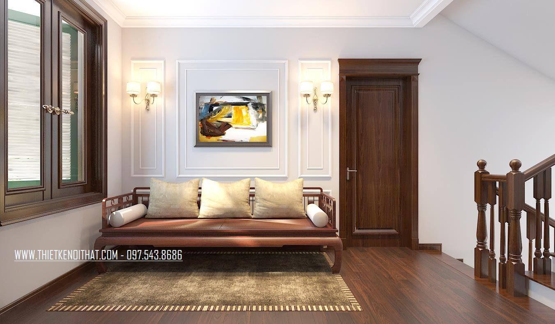 Thiết kế nội thất biệt thự tân cổ điển thành phố giao lưu