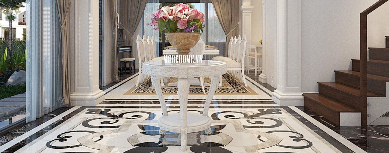 Thiết kế biệt thự tân cổ điển VinHomes Thăng Long - Anh Hưng