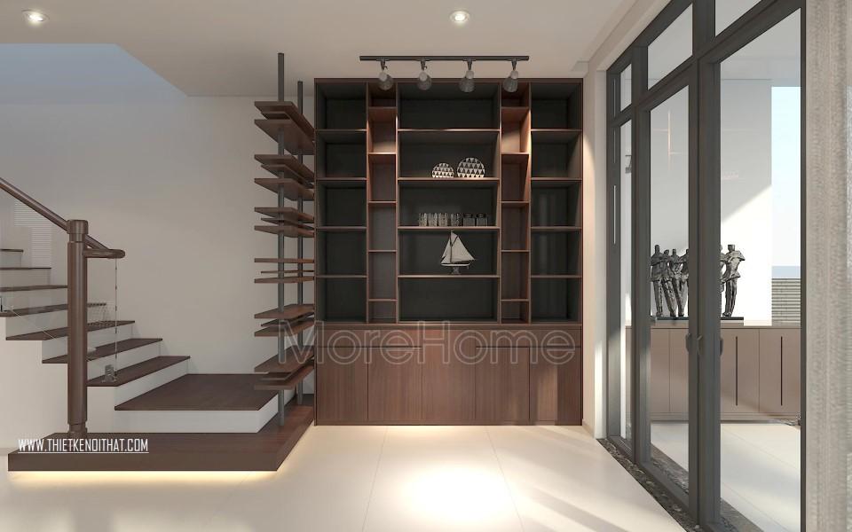 Thiết kế nội thất biệt thự Vinhomes Thăng Long hiện đại