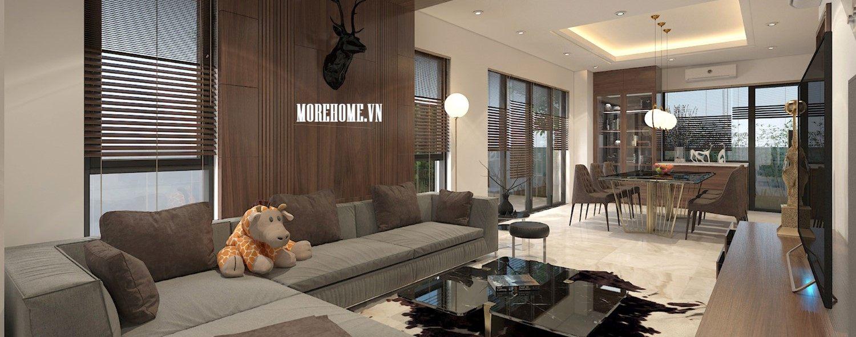 Thiết kế nội thất biệt thự VinHomes Thăng Long hiện đại và tinh tế - Anh Nam