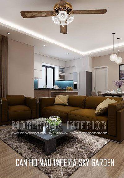 Thiết kế căn hộ mẫu cao cấp, hiện đại tại chung cư Imperia Sky Garden