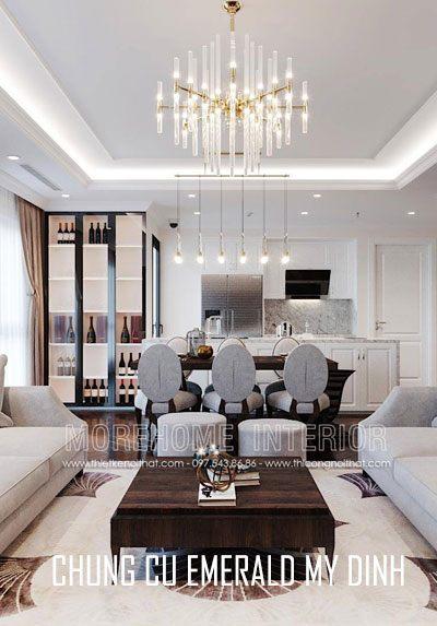 Thiết kế nội thất chung cư Emerald Mỹ Đình