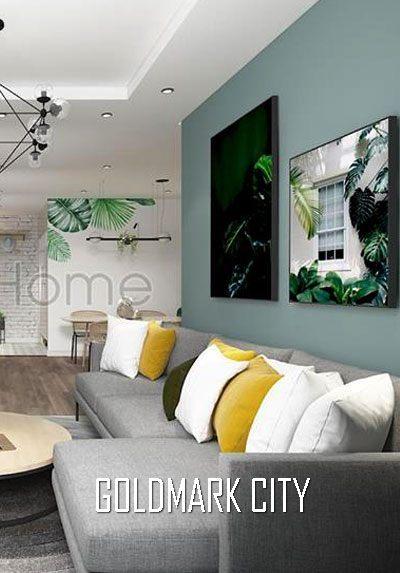 Thiết kế nội thất chung cư Goldmark City hiện đại độc đáo