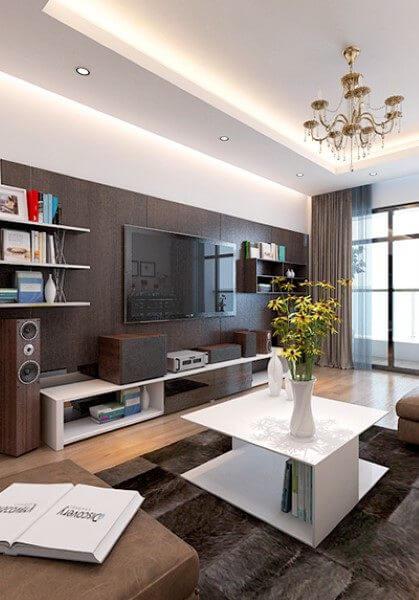 Thiết kế nội thất hiện đại chung cư Mandarin Garden Hòa Phát - Anh Sơn
