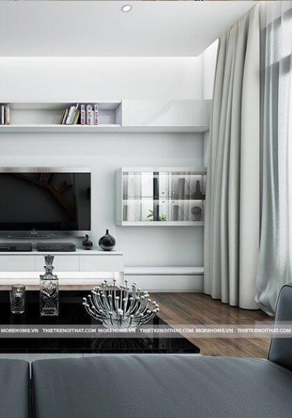 Thiết kế chung cư phong cách hiện đại tại Royal City R5 - Anh Long