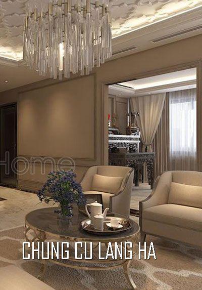 Thiết kế nội thất chung cư cao cấp tại Láng Hạ Anh Hà