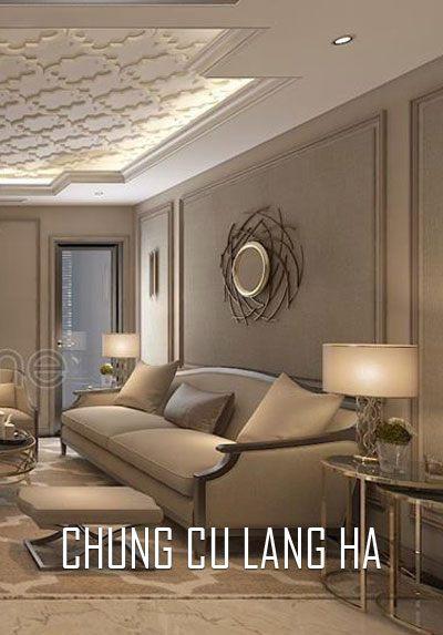 Thiết kế nội thất chung cư cao cấp tại Láng Hạ Anh Hà vẻ đẹp trầm, ấm