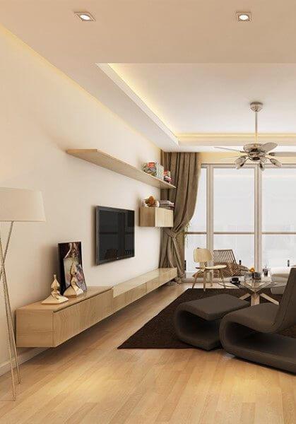 Thiết kế căn hộ chung cư hiện đại Mandarin Garden Hòa Phát - Anh Dũng