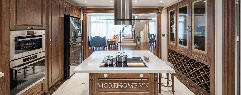 Thiết kế nội thất chung cư tân cổ điển Mandarin Garden - Anh Dương